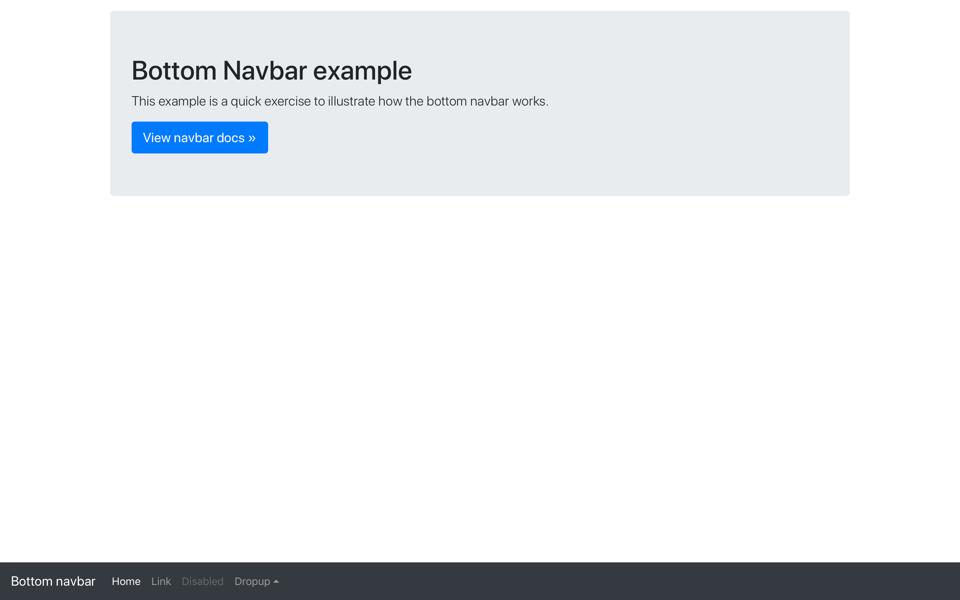bootstrap navbar right align